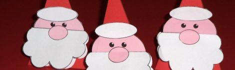 Un Babbo Natale segnaposto