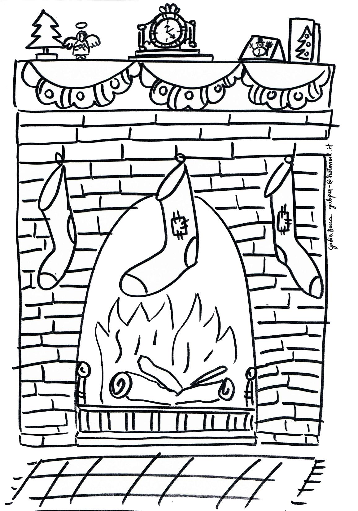 I disegni di giulia casa di babbo natale riva del garda for Disegnare la casa