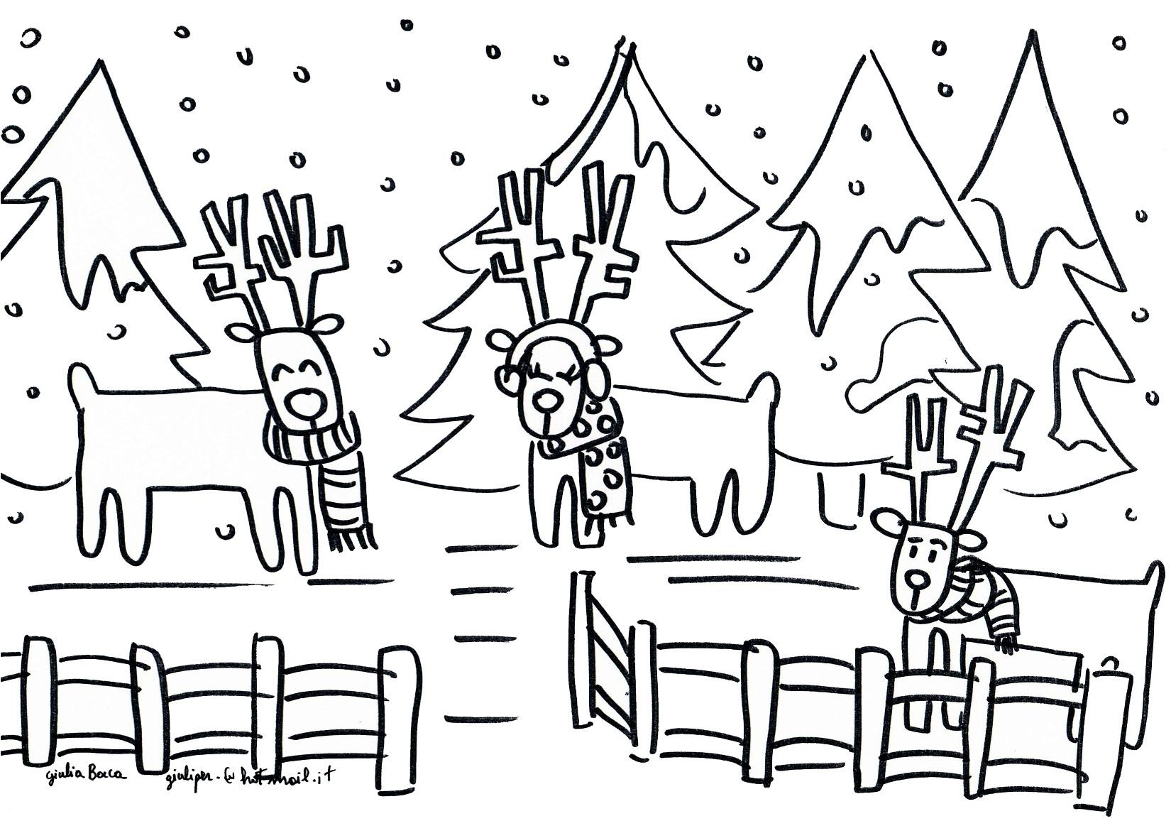 Disegni Paesaggi Di Natale.I Disegni Di Giulia Casa Di Babbo Natale Riva Del Garda