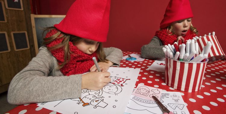 Cosa si fa nella Casa di Babbo Natale?
