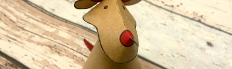 La renna di carta