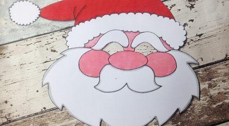 La maschera da Babbo Natale
